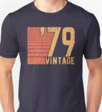 1979 Vintage - 40. Geburtstagsentwurf Slim Fit T-Shirt