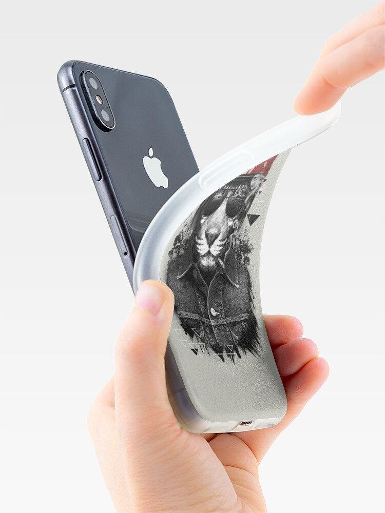 Alternate view of Jungle Rider iPhone Case & Cover