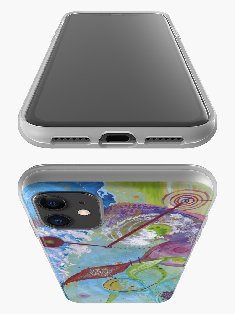 Alternate view of Satellite heART iPhone Case & Cover