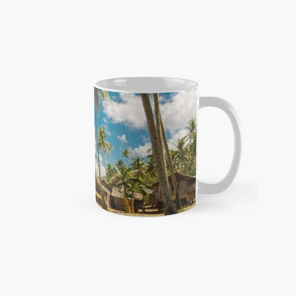 Elnido, Palawan, Philippines - Beach Village Classic Mug