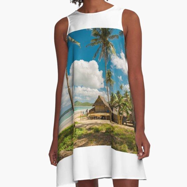Elnido, Palawan, Philippines - Beach Village A-Line Dress