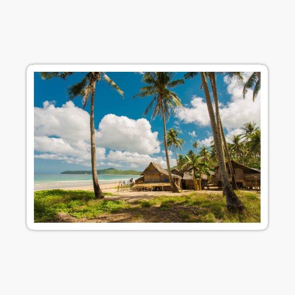 Elnido, Palawan, Philippines - Beach Village Sticker