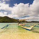 Elnido, Palawan, Philippines - Island Tour Boat by Bobby McLeod