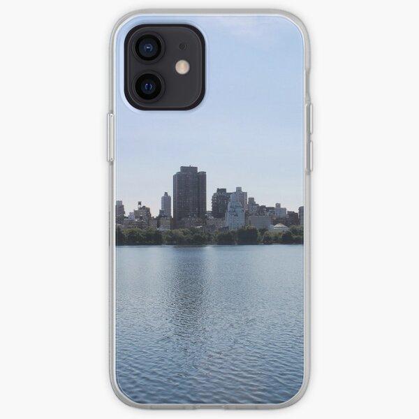 #FamousPlace #InternationalLandmark #CentralPark #NewYorkCity #USA #AmericanCulture #Water #City #Lake iPhone Soft Case