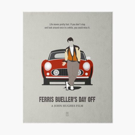 Ferris Bueller's Day Off Art Board Print