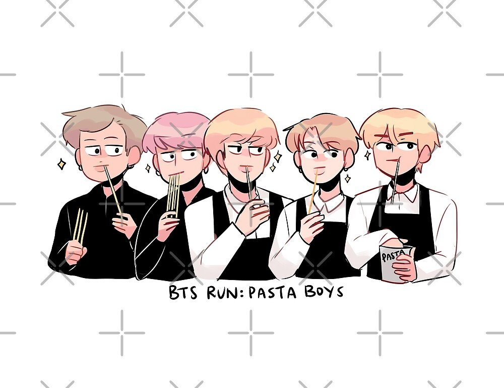 BTS RUN: PASTA BOYS