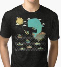 Gone Shipping Tri-blend T-Shirt