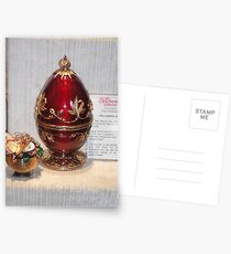 Red Faberge Egg Postkarten