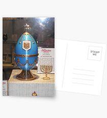 Blue Faberge Egg Postcards
