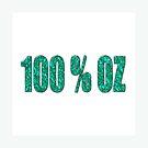 100 percent Aqua OZ by scholara
