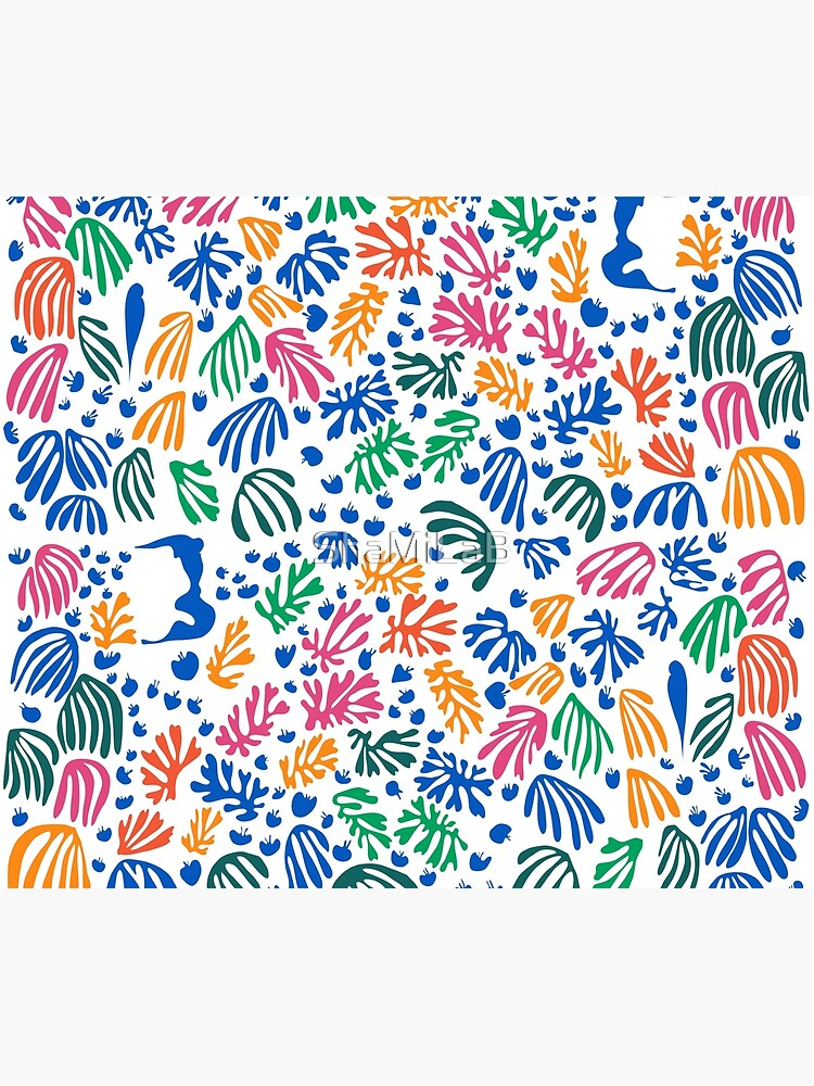 Matisse Colorful Pattern #1 by ShaMiLaB