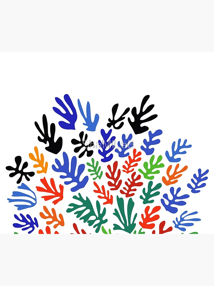 Matisse Floral Pattern #1 by ShaMiLaB