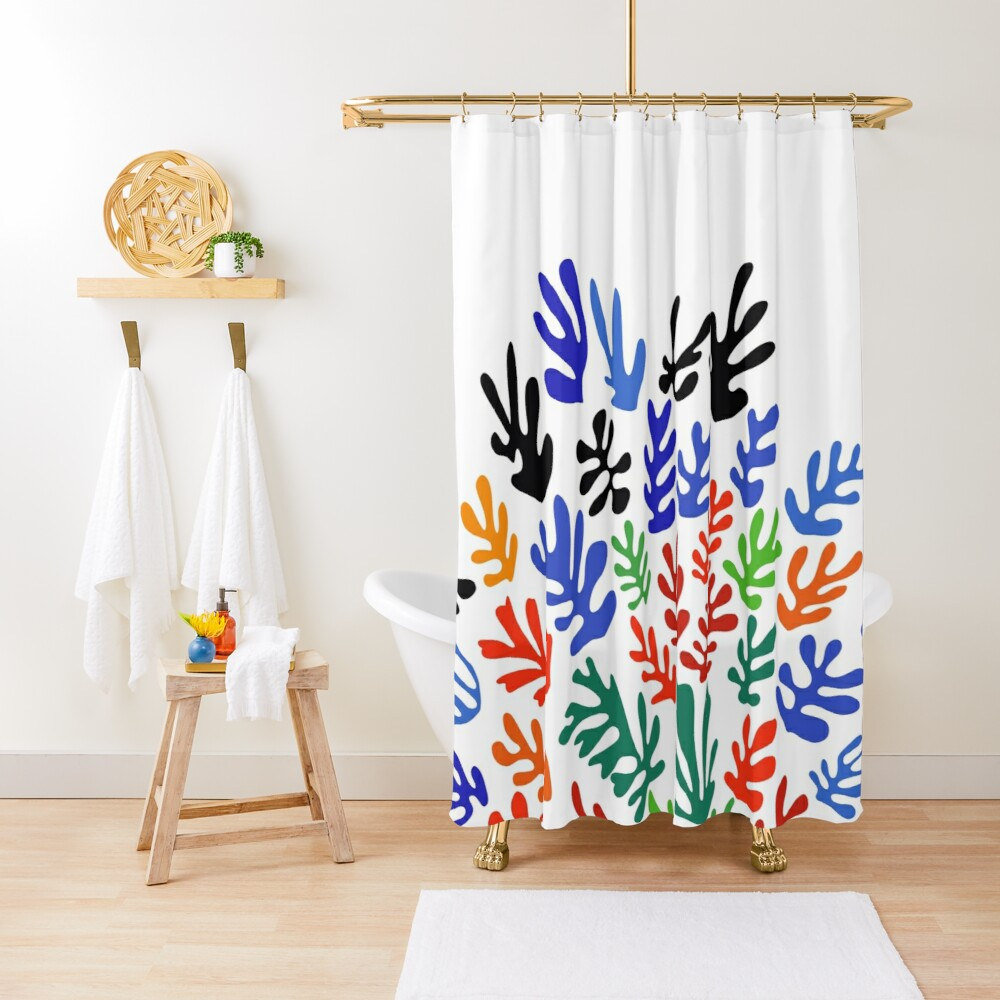 Matisse Floral Pattern #1 Shower Curtain