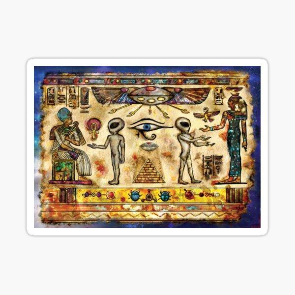 Ancient Aliens of Egypt Sticker