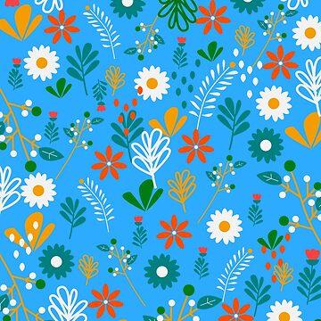 Blue field of joy by cocodes