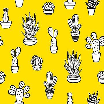Doodle Succulents by alijun