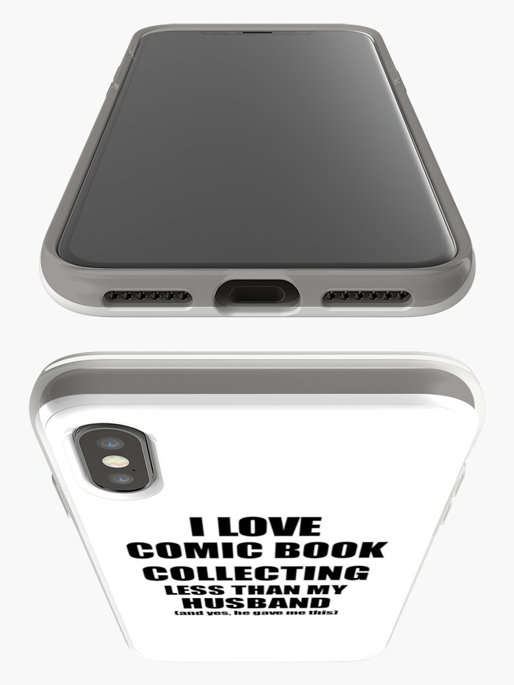 Vista alternativa de Vinilos y fundas para iPhone Comic Book Collecting Wife Funny Valentine Gift Idea For My Spouse From Husband I Love