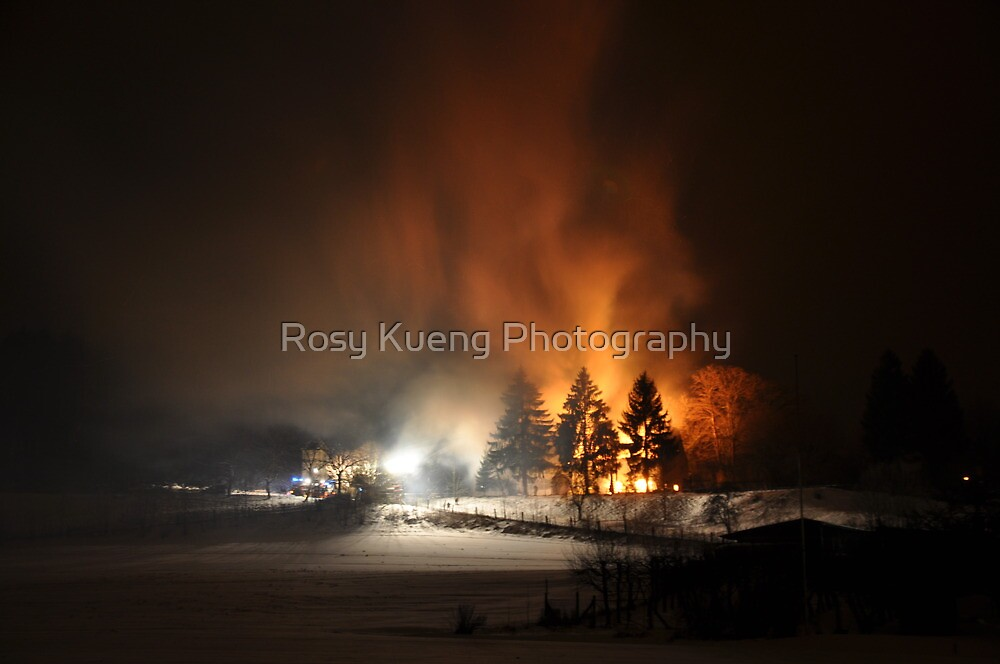 Fire, Fire, Fire!!! by Rosy Kueng Photography