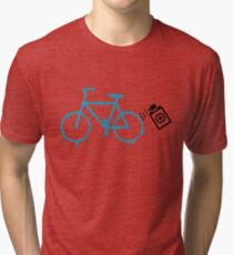 paint the bike Tri-blend T-Shirt
