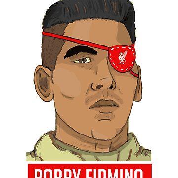 Bobby Firmino by Nkioi