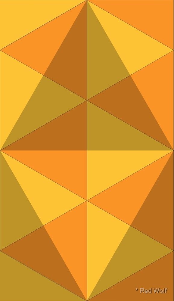Geometric Pattern: Overlay: Citrus by * Red Wolf