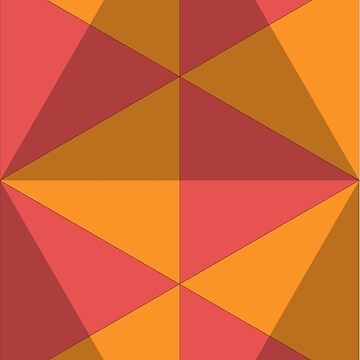 Geometric Pattern: Overlay: Sunrise by redwolfoz