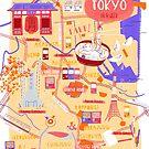 «Mapa de Tokio» de tinatamay