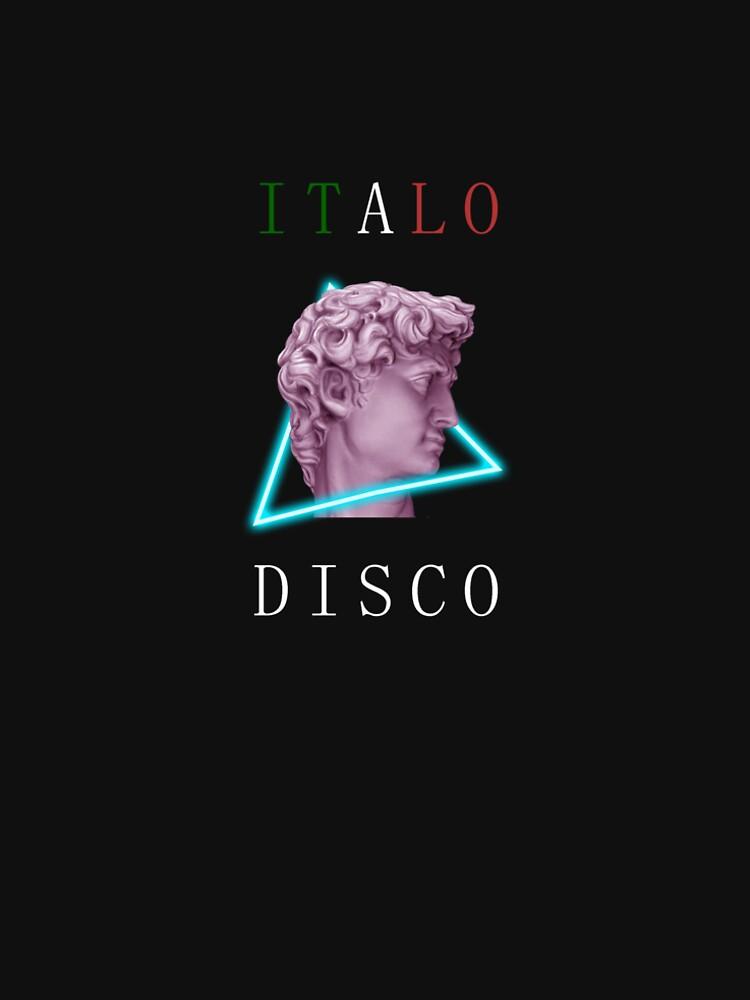 Italo disco (black) by nordita