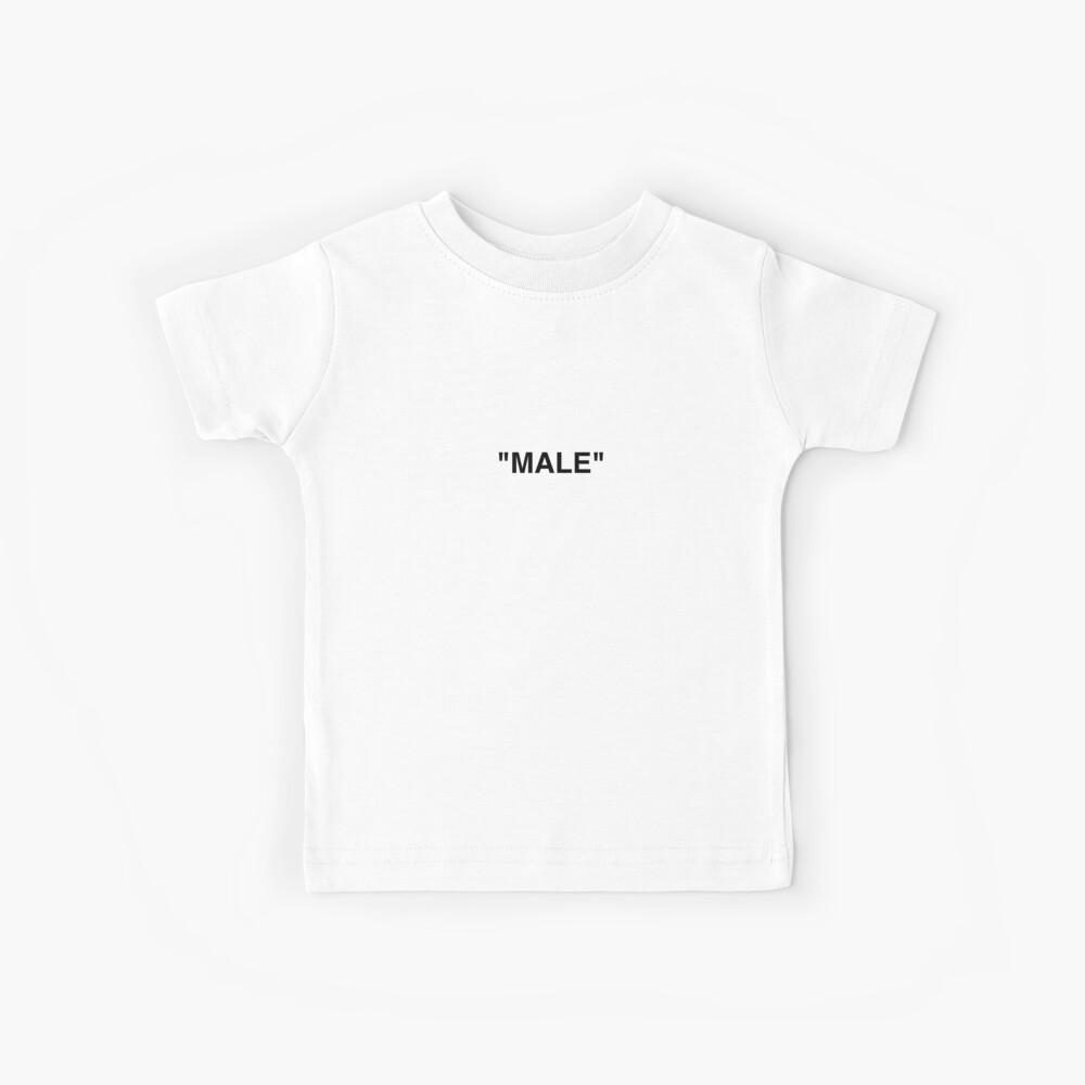 OFF WHITE Inspired Male Kinder T-Shirt