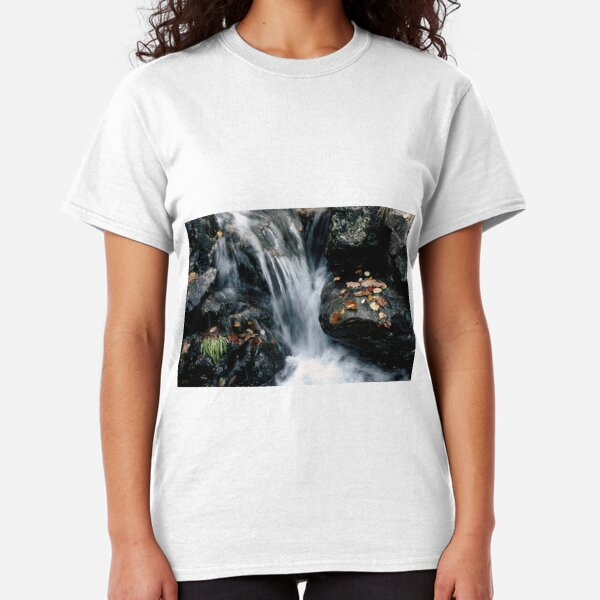 Waterfall off Illgill Head, Wastwater, English Lake District Classic T-Shirt