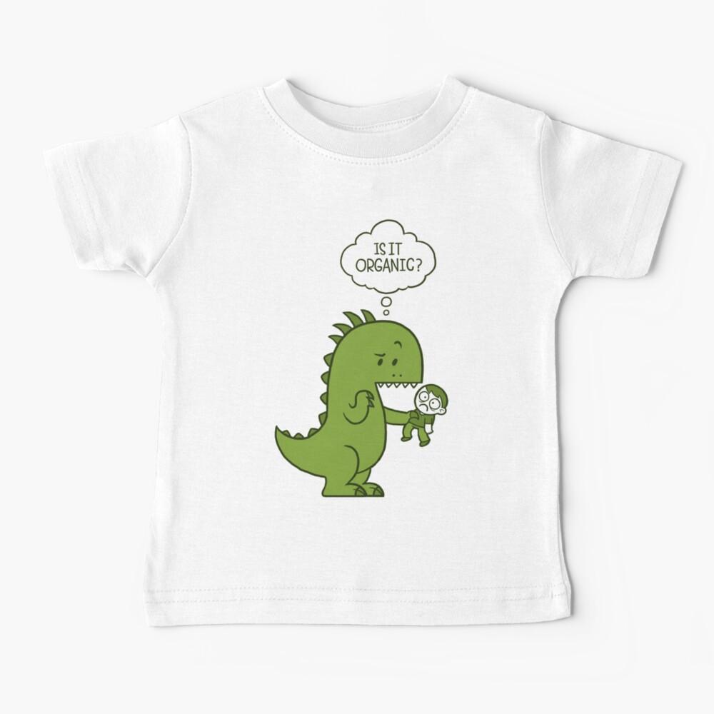 Organic Dinosaur Baby T-Shirt