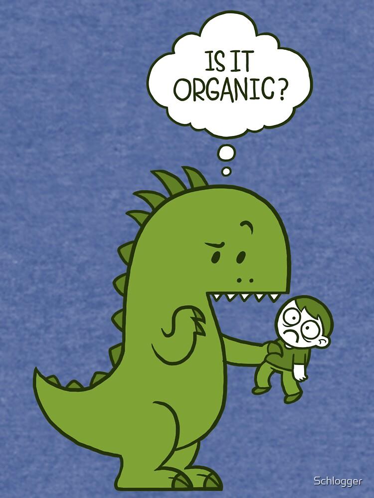 Organischer Dinosaurier von Schlogger