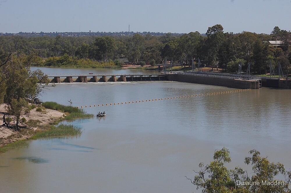 Lock 4, Riverland, South Australia by Dwayne Madden