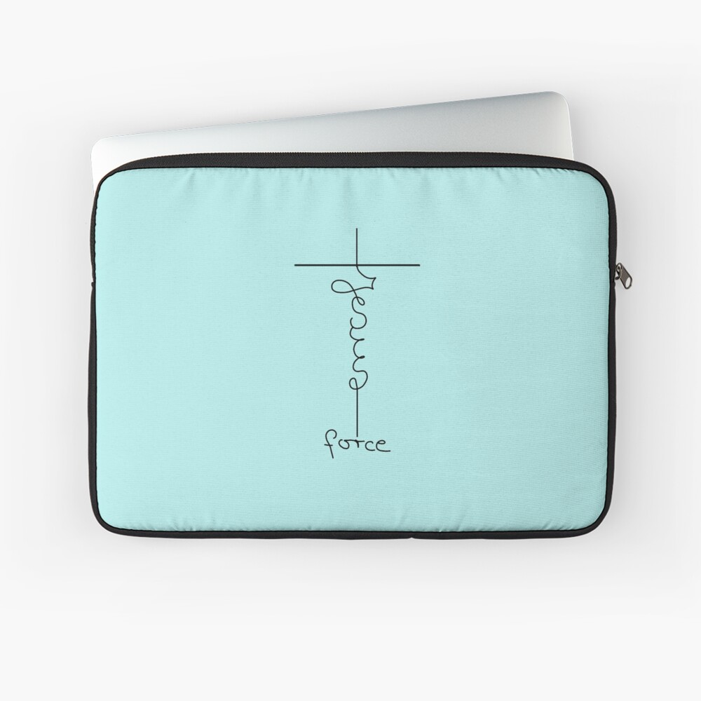 Jesus gibt Kraft Laptoptasche