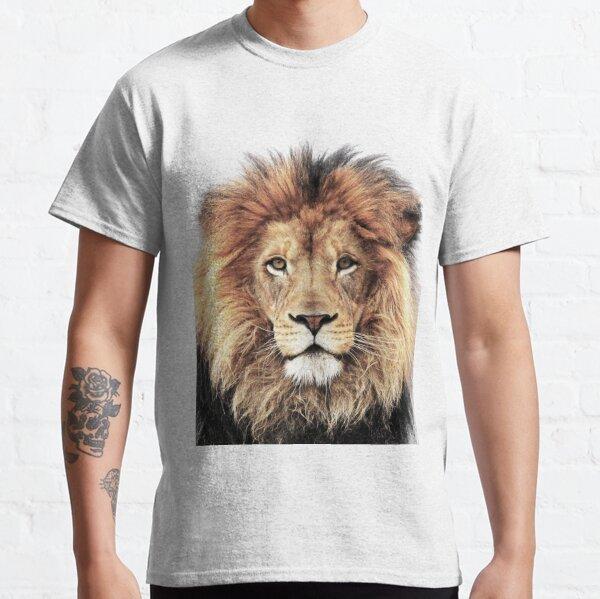 TRIBAL LION EXOTIC KING JUNGLE LEO ROAR NATURE ANIMAL WILDLIFE T TEE SHIRT L-2XL