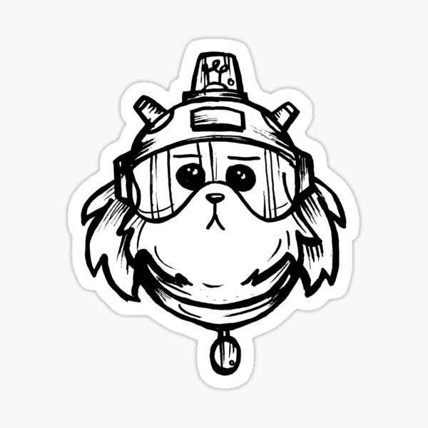 Snuffles Snowball from Rick and Morty™ Sticker