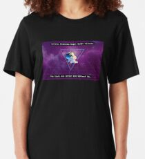The Stars Are Better Off Without Us Slim Fit T-Shirt