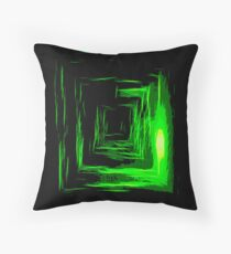 In the sewers Throw Pillow