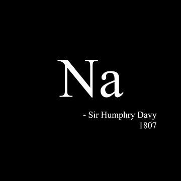 Na - Sir Humphry Davy by eldram