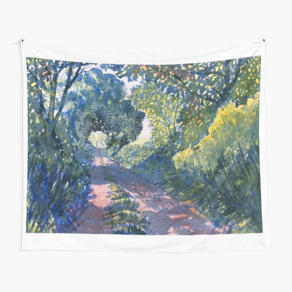 Hockney Trail Tunnel of Trees Tapestry