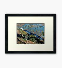 Victoria Falls and Batoka Gorge Framed Print