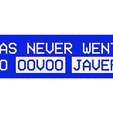 *has never went to oovoo javer* by fandemonium