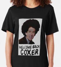 Camiseta ajustada Bienvenido de nuevo Cox Coxer