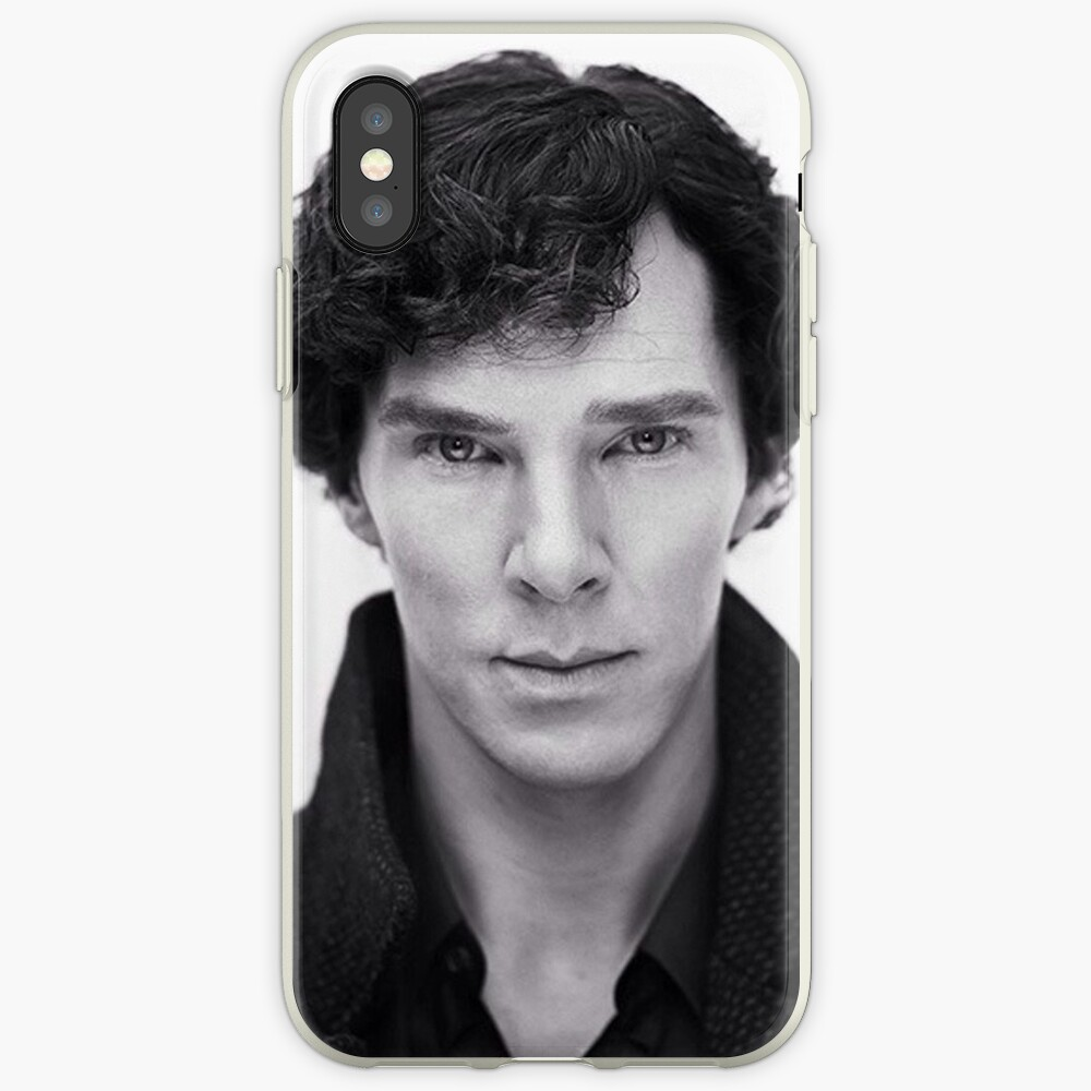 Benedict Cumberbatch in Sherlock iPhone-Hülle & Cover