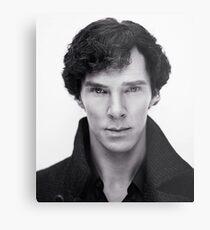 Benedict Cumberbatch In Sherlock Metal Print