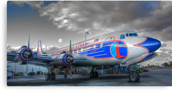 Eastern Airlines DC-7B by Bill Wetmore