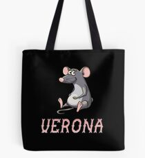 Verona Sticker Tote Bag