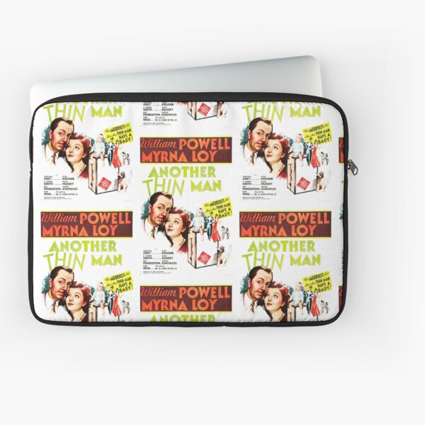 Classic Movie Poster - Another Thin Man Laptop Sleeve