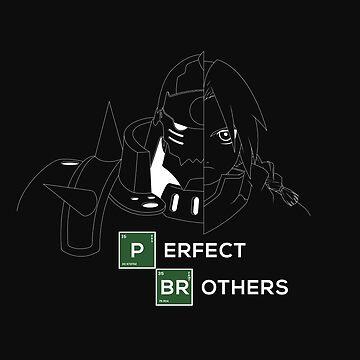 Fullmetal Alchemist Elrick Brothers by LAZARE-TENDO