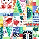 Love birds by adenaJ